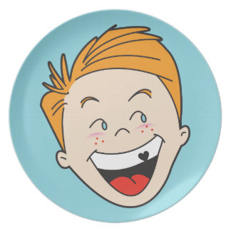 Timmy Retro '50s Kid Plate