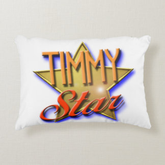 Timmy Star Accent Pillow
