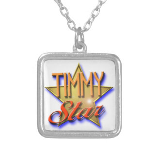 Timmy Star Silver Plated Necklace