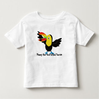 Timmy the Keel-billed toucan Toddler T-shirt