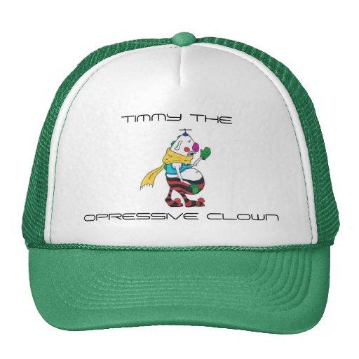 Timmy the Opressive Clown Mesh Hats