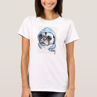 Timmy the Pampered Pug Women's T-Shirt