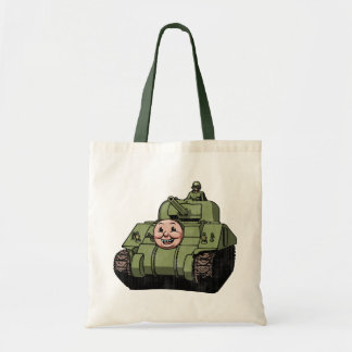 Timmy the Tank Tote Bag