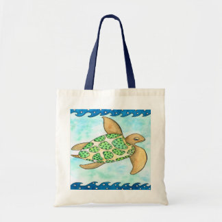 Timmy the Turtle Tote Bag