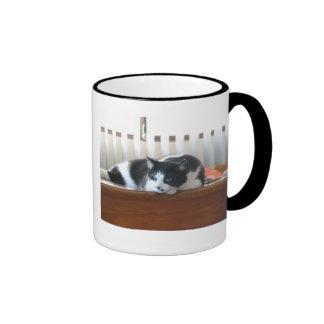 Timmy White Ringer Coffee Mug