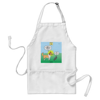 Timmys Cat Tinkles Adult Apron