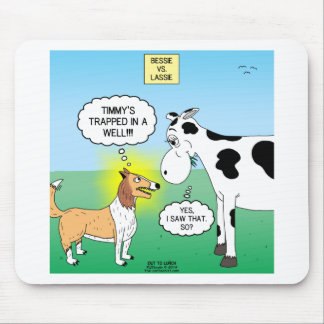Timmys Cow Mouse Pad