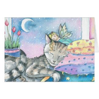 Timmy's Fairy Cat and Fairy Card