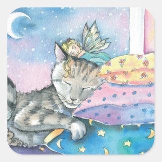 Timmy's Fairy Tabby Cat Stickers
