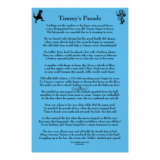 Timmy's Parade Children's Poster