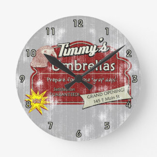 Timmy's Umbrellas Clock
