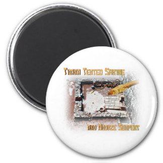 Timna Shrine and Bronze Serpent 2 Inch Round Magnet