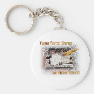 Timna Shrine and Bronze Serpent Keychain