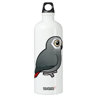 Timneh African Grey Parrot Aluminum Water Bottle