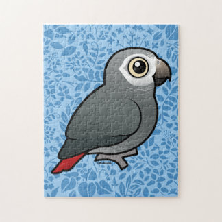 Timneh African Grey Parrot Jigsaw Puzzle
