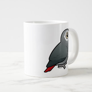 Timneh African Grey Parrot Large Coffee Mug