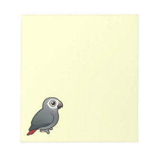 Timneh African Grey Parrot Memo Note Pads
