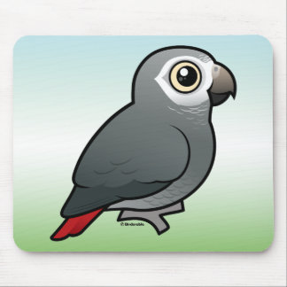 Timneh African Grey Parrot Mouse Pad