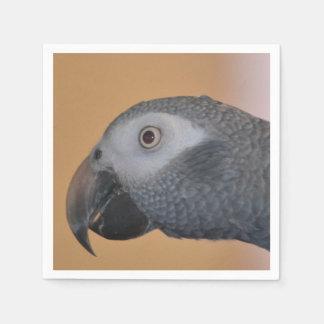 Timneh African Grey Parrot Paper Napkin