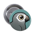 Timneh African Grey Parrot Pin