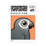 Timneh African Grey Parrot Postage Stamps