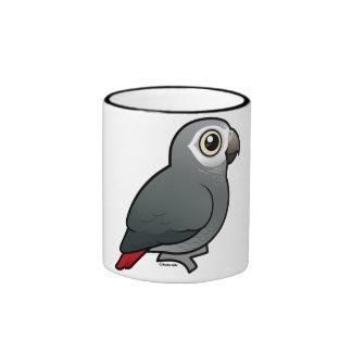 Timneh African Grey Parrot Ringer Mug