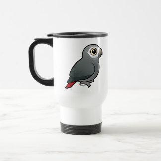 Timneh African Grey Parrot Travel Mug