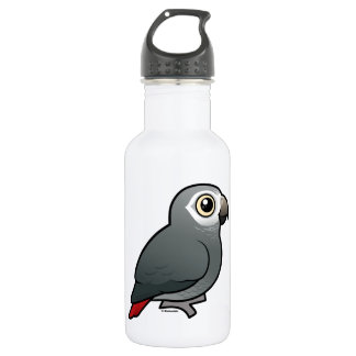 Timneh African Grey Parrot Water Bottle