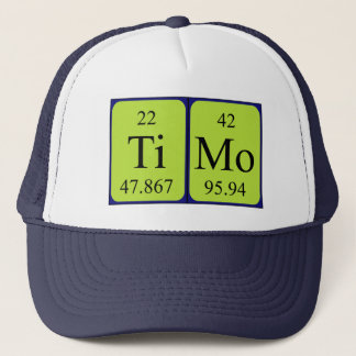 Timo periodic table name hat
