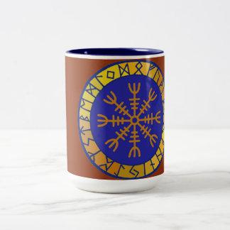 Timón de la taza de consumición de cerámica del