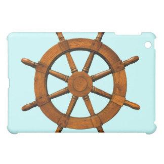 Timón de madera de las naves