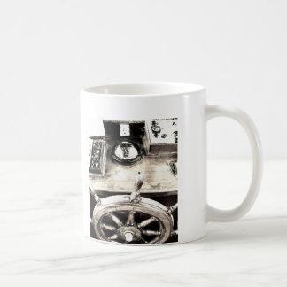 Timón del yate taza clásica