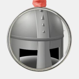 Timón medieval ornamento para arbol de navidad