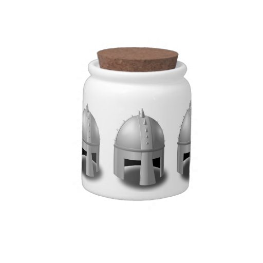 Timón medieval jarra para caramelo