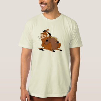 Timon Pumba Disney del león de rey Camisas