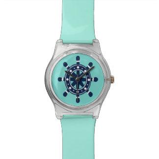 timón relojes de mano
