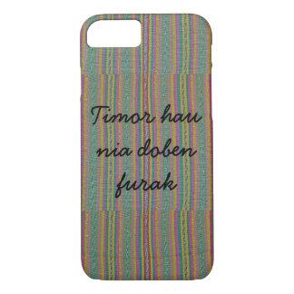 Timor hau nia doben furak iPhone 7 case