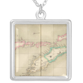 Timor Island Oceania no 28 Silver Plated Necklace