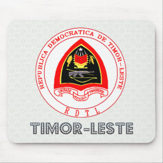 Timor-Leste Coat of Arms Mouse Pads