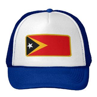 Timor L'Este East Timor flag embroidered hat