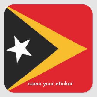Timor L'Este East Timor flag sticker