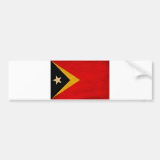 Timor Leste Flag Bumper Sticker