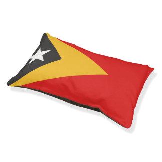 Timor-leste Flag Small Dog Bed