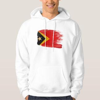 Timor Leste Flag Hoodie