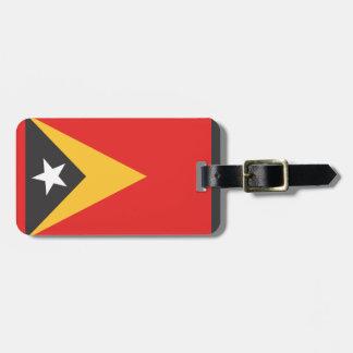 Timor-leste Flag Bag Tags