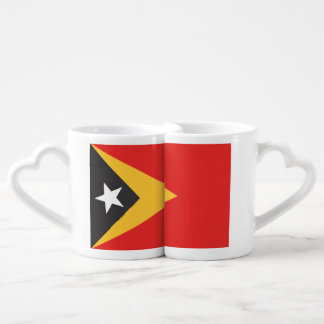 Timor-leste Flag Couples' Coffee Mug Set