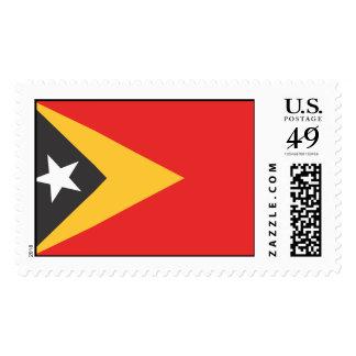 Timor-leste Flag Postage