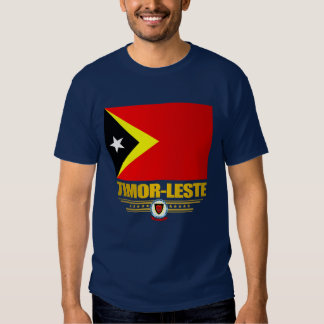 Timor-Leste Flag Shirt
