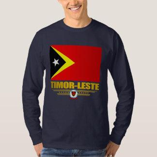 Timor-Leste Flag Tee Shirt