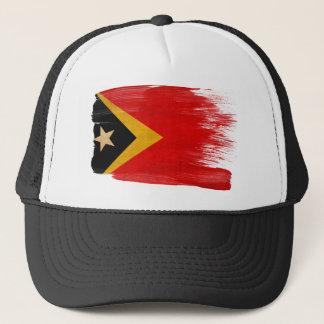 Timor Leste Flag Trucker Hat